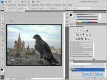 Как фотошопе вставить одну картинку в другую в фотошопе – Как скопировать одну часть фотографии и вставить в другую в фотошопе — Фотошоп: видео уроки для начинающих